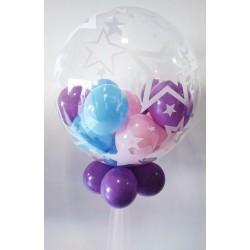 Centro de mesa burbuja