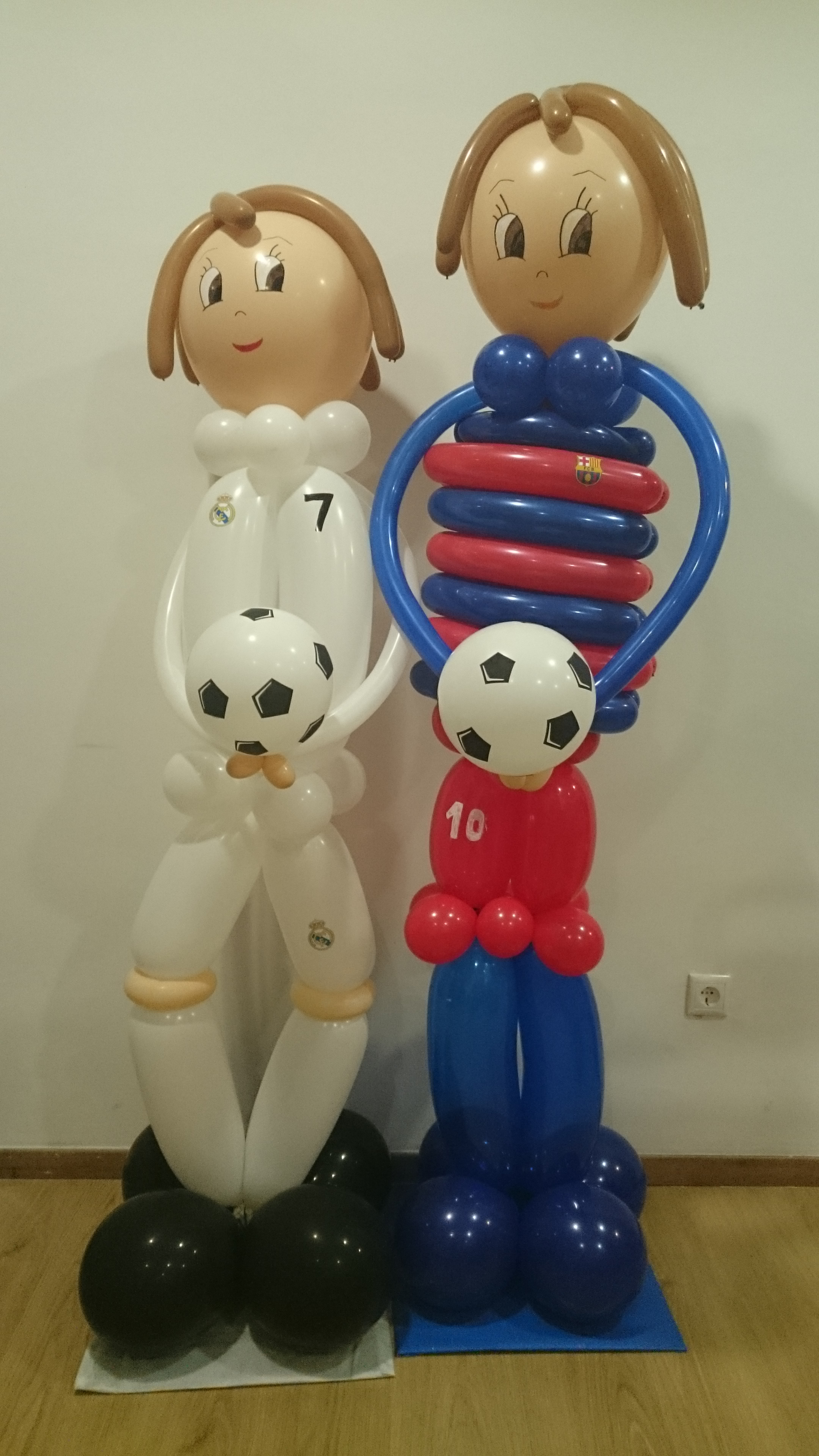 Figuras globos fútbol Córdoba
