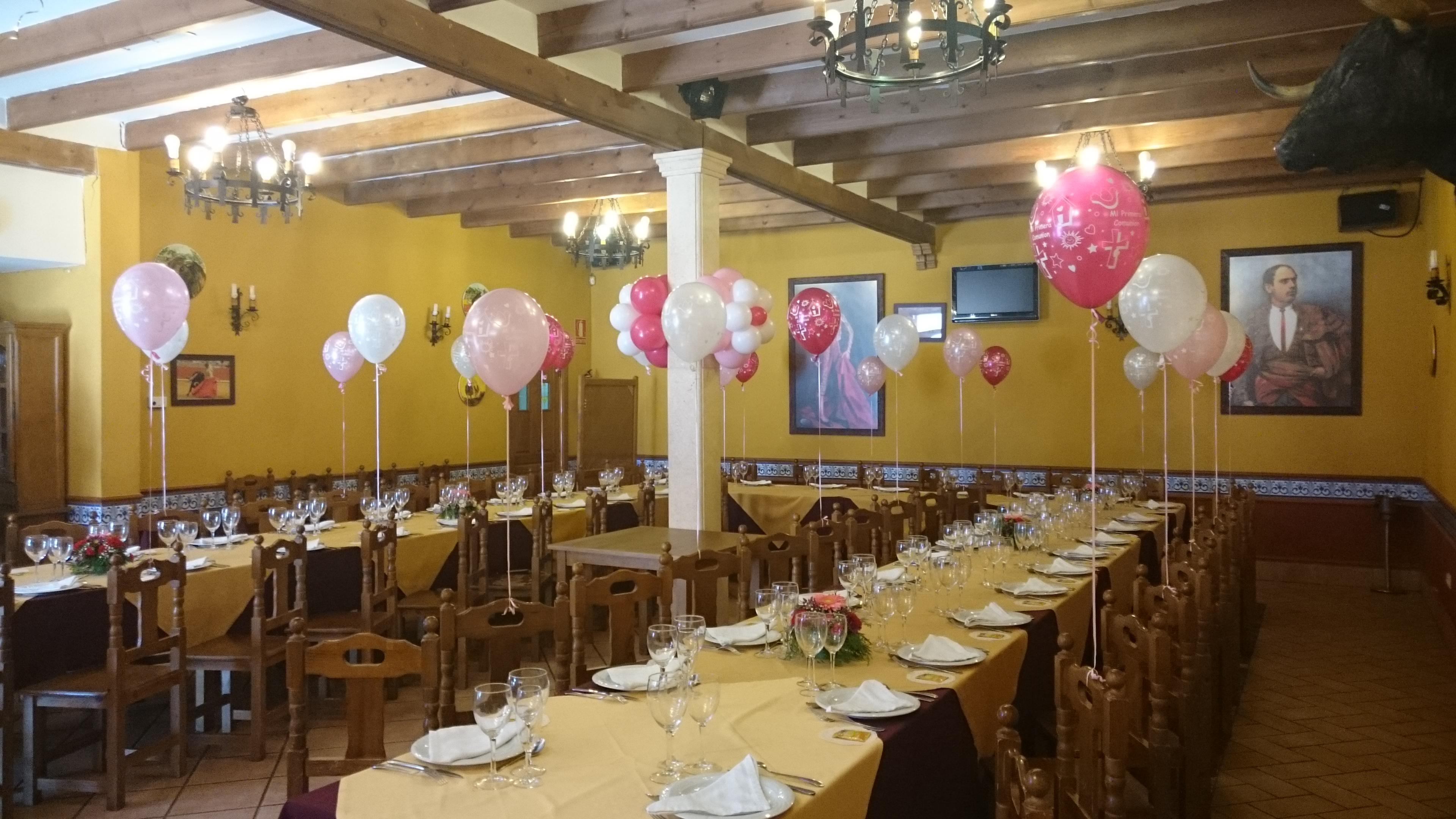 Comunión Córdoba globos
